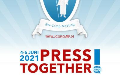 """J.O.S.U.A. Camp 2021 als Online-Veranstaltung unter dem Motto """"Press Together"""""""